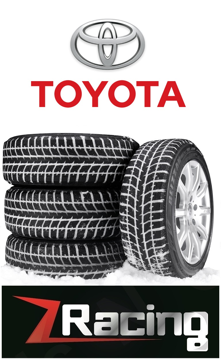 Toyota RAV4 Winter Tires Snow Tires Rim Package @905 673 2828 Zracing 17 Inch $740 + Tax 4 New Steel wheels